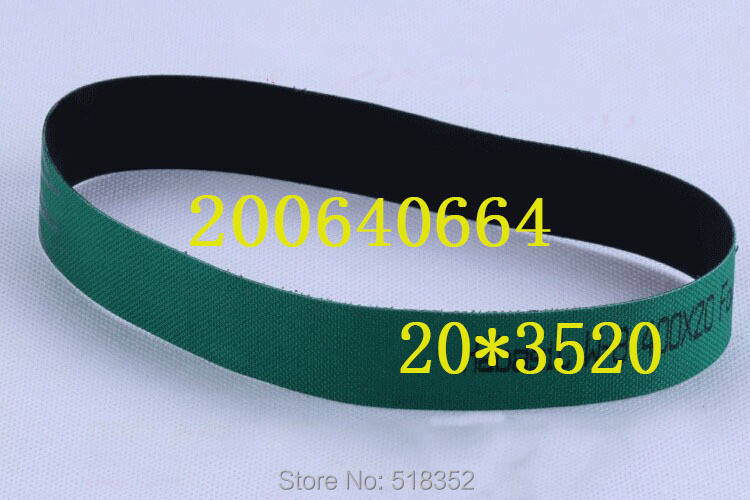 200640664 Charmilles Belt 20 x 3520mm Green ( with one side black), Wire EDM-Low Speed Machine Spare Parts200640664 Charmilles Belt 20 x 3520mm Green ( with one side black), Wire EDM-Low Speed Machine Spare Parts