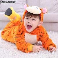 LAISIDANTON Children Animal Onesie Unicorn Pajamas For Girls Boys Adult Pijama Rainbow Tigger Totoro Pyjamas Infantil