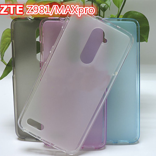 ZTE Z981 Case Soft TPU Slim Matte Back Case Cover Chell for ZTE Max Pro / Z981