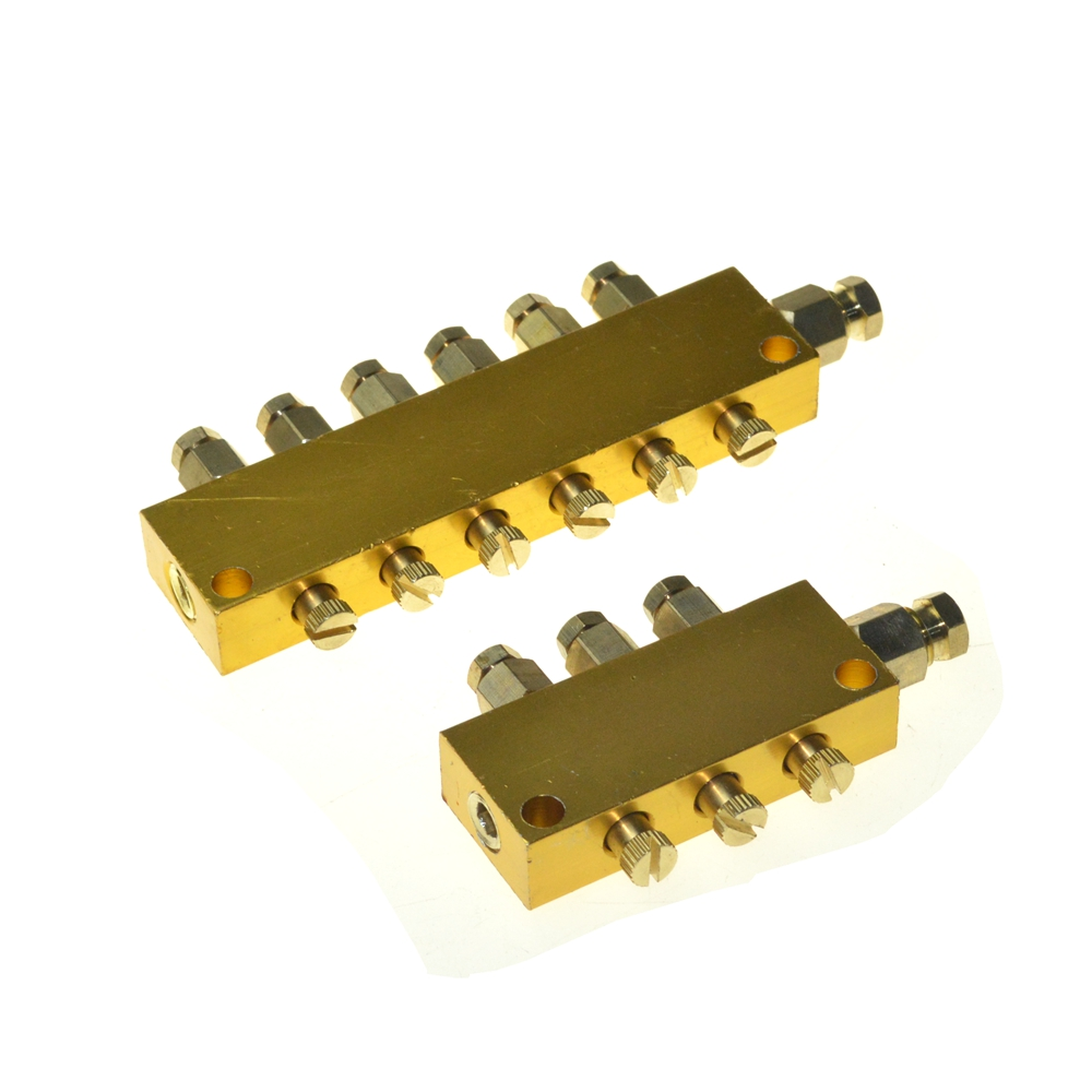 2/3/4/5/6/7/8/9/10 Way Brass Adjustable Lube Oil Distributor Value Manifold Block беспроводная bt колонка ginzzu gm 881b bt колонка 3w lcd usb tf aux fm часы будильник