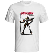 Tekkaman Lance T-shirt Casual Pop Print Retro Anime Space Knight T Shirt Fashion Punk Cool Skate Women Men Top Tee