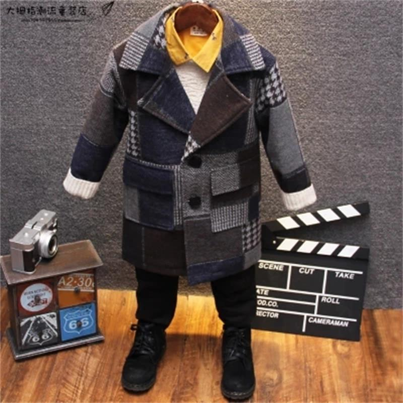 High quality New Boys Winter Coat Fashion Single-breasted Solid Navy Wine Red Kids Wool Coats Jacket Boys Children OuterwearHigh quality New Boys Winter Coat Fashion Single-breasted Solid Navy Wine Red Kids Wool Coats Jacket Boys Children Outerwear