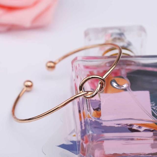 Bracelet jonc noeud 4