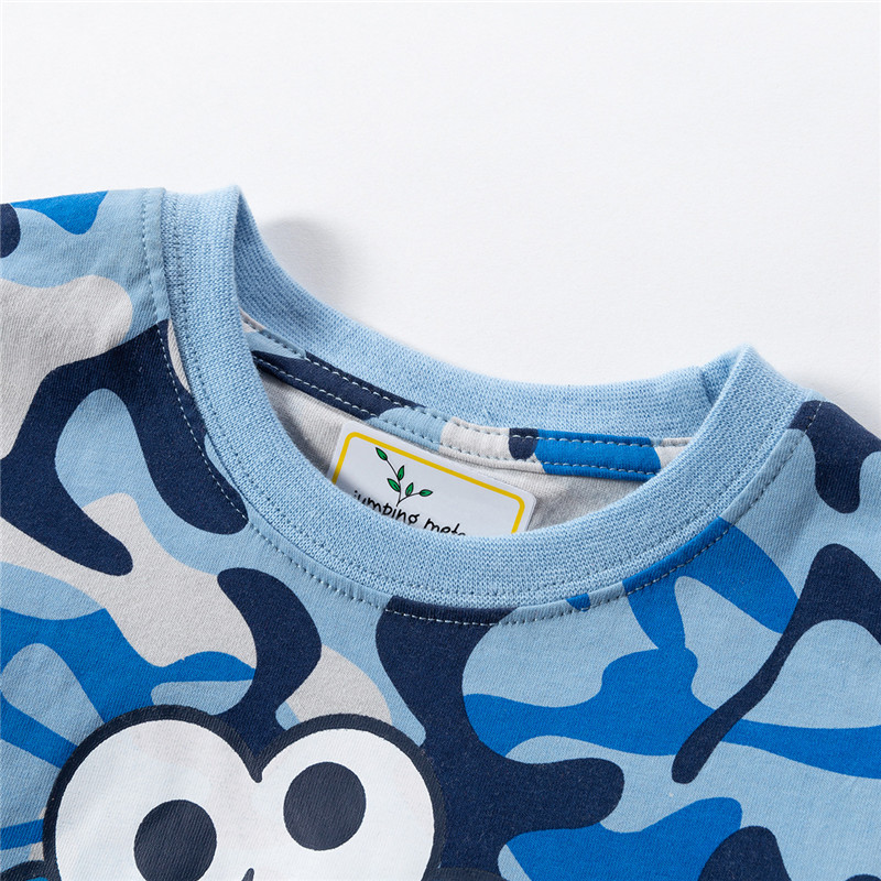 HTB15z wadfvK1RjSszhq6AcGFXaW jumping meters Baby Tees s summer cotton boys t shirt clothing characters Toddler kids t shirts fashion children's t shirts
