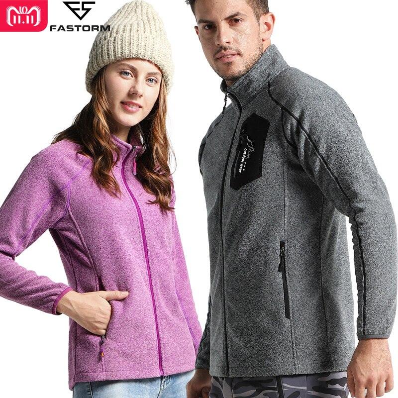 все цены на FASTORM Outdoor Jacket Men Women Thermal Fleece Jackets Winter Camping Hiking Softshell Coats Skiing Trekking Travel Jacket