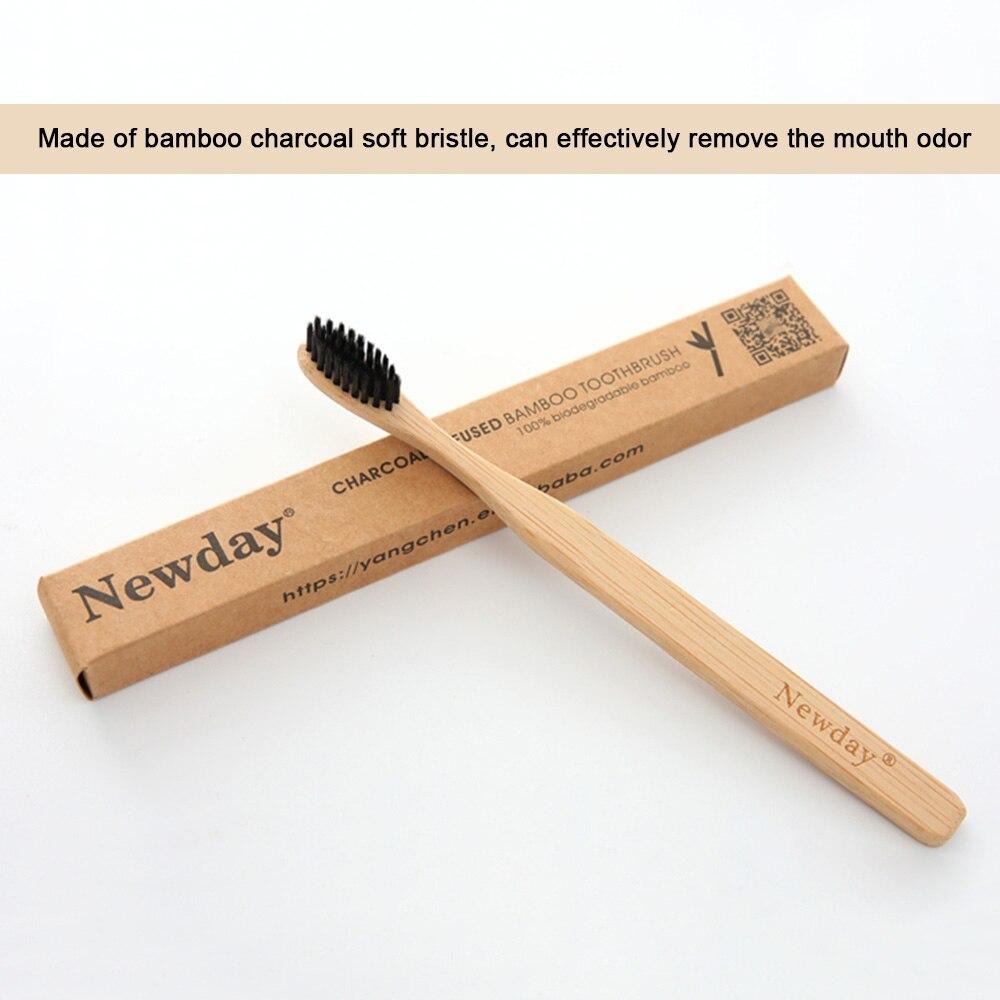 1 Pc Gesundheit Weichen Bambus Holzkohle Zahnbürste Oral Care Teeth Eco Soft Medium Pinsel Zähne Bleaching Zähne Pinsel Nano Zahnbürste Exquisite Traditionelle Stickkunst