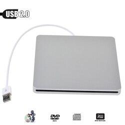 Dla Apple macbook Pro MacPro macbook Pro USB komputera 2.0 napęd 8X ODTWARZACZ DVD DVD-ROM Combo 24X CD-R palnika zewnętrznych Slim jazdy samochodem