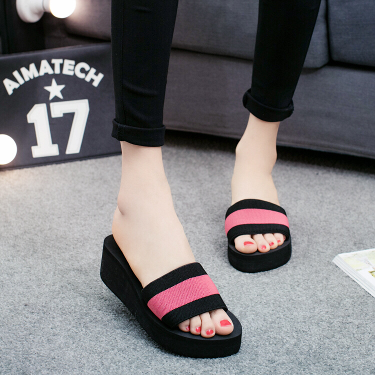 9402 The new summer prevent slippery outside a word procrastinates female fashion wear high heels slip shoes9402 The new summer prevent slippery outside a word procrastinates female fashion wear high heels slip shoes