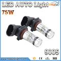 Super brillante LED Auto Luces CREE Chips de Alta Potencia y Alta Calidad lámpara de la niebla del coche 9005 9006 HB3 HB4 H10 bombillas led faros de niebla led