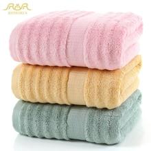 Romorus 100% fibra de bambu toalha de banho 70*140cm 520g fresco toalha de banho para o verão super macio toalla absorvente