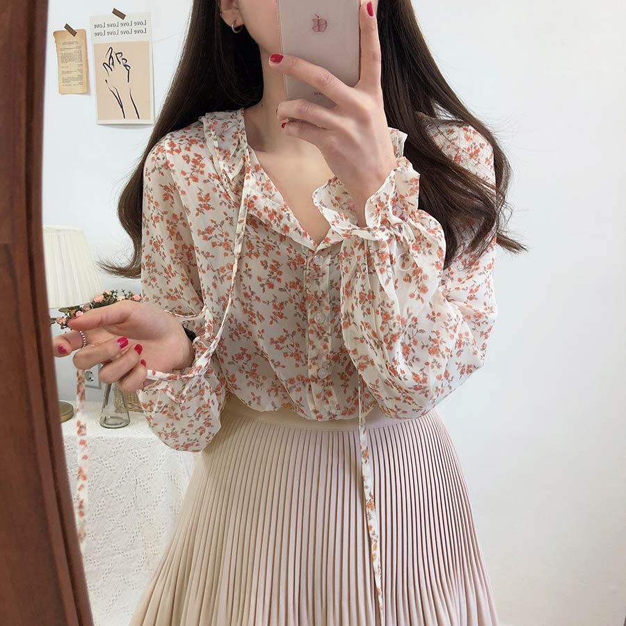 V Neck Sexy Shirt Summer Apricot Black Chiffon Blouse Women Tops Femme Casual Women Short Sleeve Girls Blouse Lace Up Plus Size