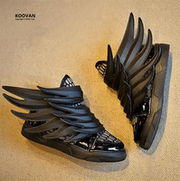 Koovan Children Wing Shoes 2017 Spring Kids Shoes Children's Shoes Baby Boys Girls Sneakers Black Mesh Sports Shoes Hollow