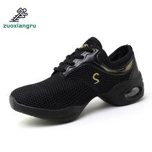 цена на New Soft Outsole Breath Dance Shoes Women Sports Feature Dance Sneakers Jazz Hip Hop Shoes Female Dancing Shoe Adult Comfortable