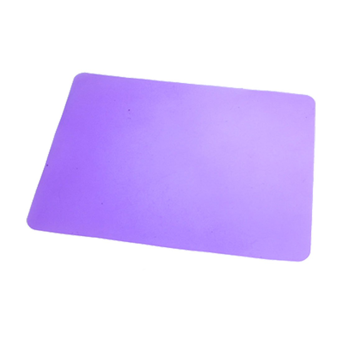CAA Sıcak Dikdörtgen Silikon Kaymaz Mor Mouse Pad Mat Dizüstü