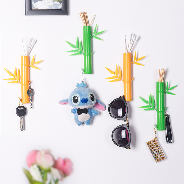 129e0150bd50 New fashion creative Bamboo wall hanging without a strong load ...