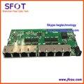 Переключатель, POE переключатель реверса, 8 порт 100 М POE Более быстрый тип коммутатор Ethernet, с индикатор сигнала на каждом порту