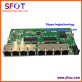 Switch, POE interruptor reverso, 8 portas 100 M Reforçada tipo fast Ethernet switch POE, com indicador de sinal em cada porta