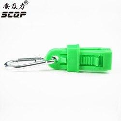 Sicherheit Kunststoff Handschuh Halter Clip Persönliche Schutzausrüstung Für Arbeit Arbeitshandschuhe Neue Stil AT-11