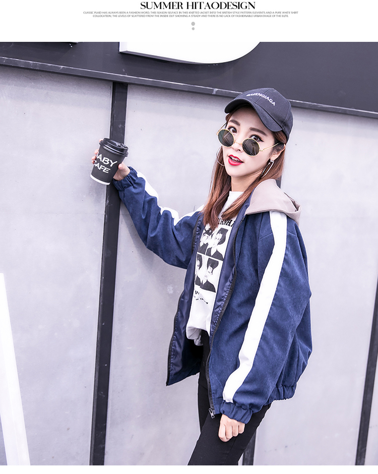 2019 Autumn Jacket Womens Streetwear Patchwork Hooded Totoro Jackets Kawaii Basic Coats harajuku Outerwear chaqueta mujer 62