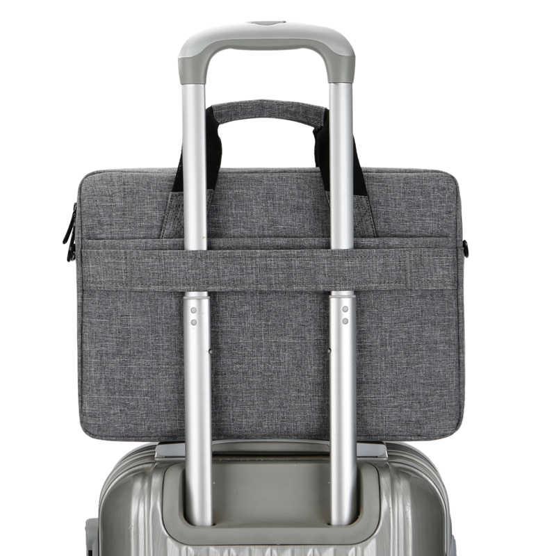 Brinch 13 14 15 дюймов нейлон твердый ударопрочный ноутбук сумка для планшета сумка мессенджер на плечо унисекс для мужчин и женщин
