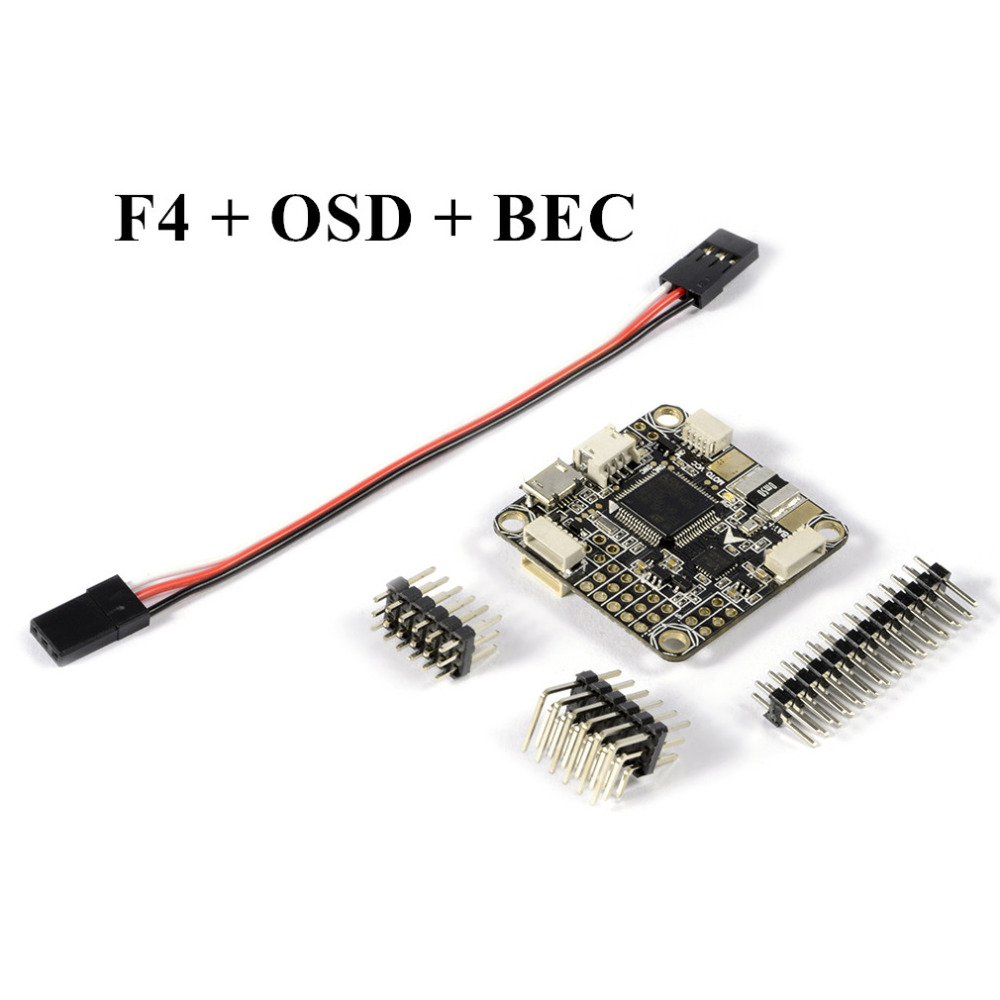 Free Shipping /betaflight F4 V2 PRO Flight Controller Board w/ Baro Built-in OSD With Power Supply For RC FPV Mini betaflight omnibus f4 pro v2 flight controller