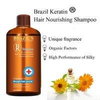 500ml Brazil keratin hair care shampoo
