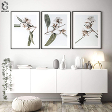 Nordic Wall Picture Flowers Canvas Art Decorative Paintings Minimalist Scandinavian Poster Cuadros Living Room Decoration