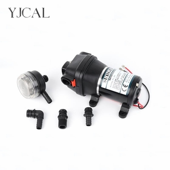 FL-30 12V 24V DC Electric Diaphragm Pump High Pressure RV Yacht Family Water Pump Self-priming Solar Booster Water Bilge Pump solar water pump dc 12v 24v high pressure solar power pump submersible stainless steel well pump electric diaphragm garden