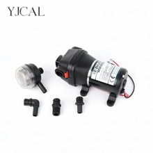 FL-30 12V 24V High Pressure Mini RV Yacht Family Water Self-priming Diaphragm Pump Reciprocating Filter Accessories Automatic fl 32 220v 110v high pressure mini rv yacht family water self priming diaphragm pump reciprocating filter accessories automatic