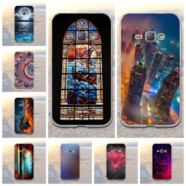 Soft TPU Case for Samsung Galaxy J1 2016 J120 J120F Cover 3D Relief Case For Samsung Galaxy J1(6) J120 J120F J1 2016 SM-J120F
