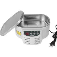 600ml Smart Ultrasonic Cleaner AC 220V 50Hz Stainless Steel Ultrasound Wave Washing Jewelry Glasses Ultrasound Bath Machine