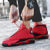 2019 New Style Breathable Basketball Shoes Men Boys High Top Shockproof Sneakers Non slip Jordan Basket Shoes Zapatillas Hombre