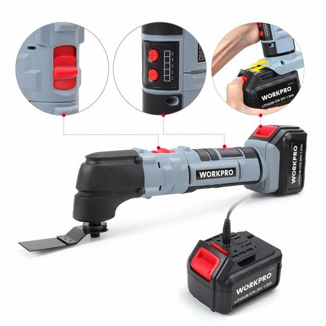 Power Oscillating Tools Electric Trimmer Saws Home DIY Lithium-ion