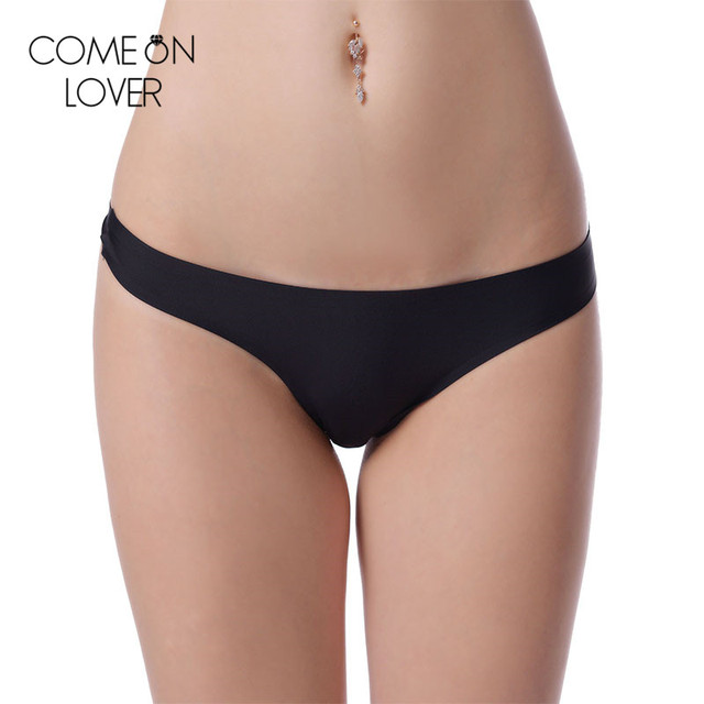 eadb7dfea831 PE5030 Comeonlover Wholesale and retail solid plus size seamless panty high  quality low waist sexy panties hot women underwear
