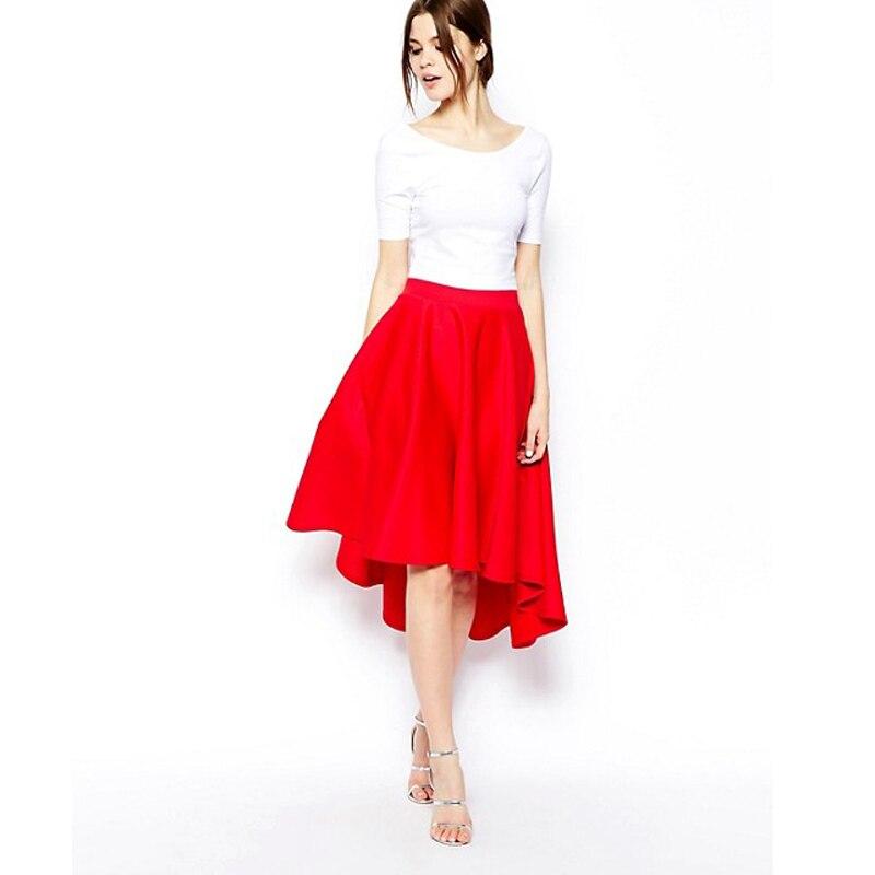 выкройка трикотажной юбки длинной