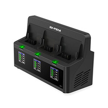 EV-PEAK DP2 3 Channels 35W/CH 3.5A/CH Bebop Drone 2 Battery Charger with Balance Current 400mA Be the first to review this item