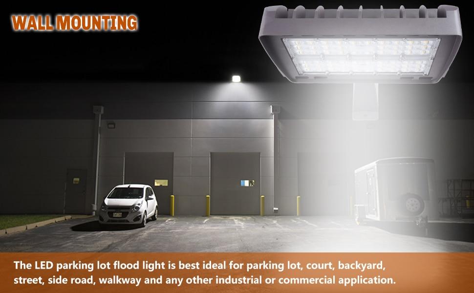 200w floodlighting led outdoor shoebox parking flood led lighting lights pole light ultra bright commercial area street parking