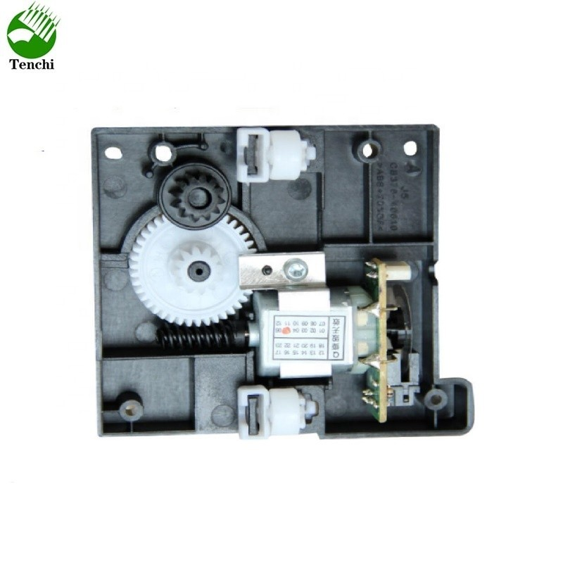 5X New style CB376-67901 Bracket <font><b>scanner</b></font> motor gear assy for <font><b>HP</b></font> M1005 <font><b>M1120</b></font> CM1015 CM1017 CM1312 5788 printer parts factory image