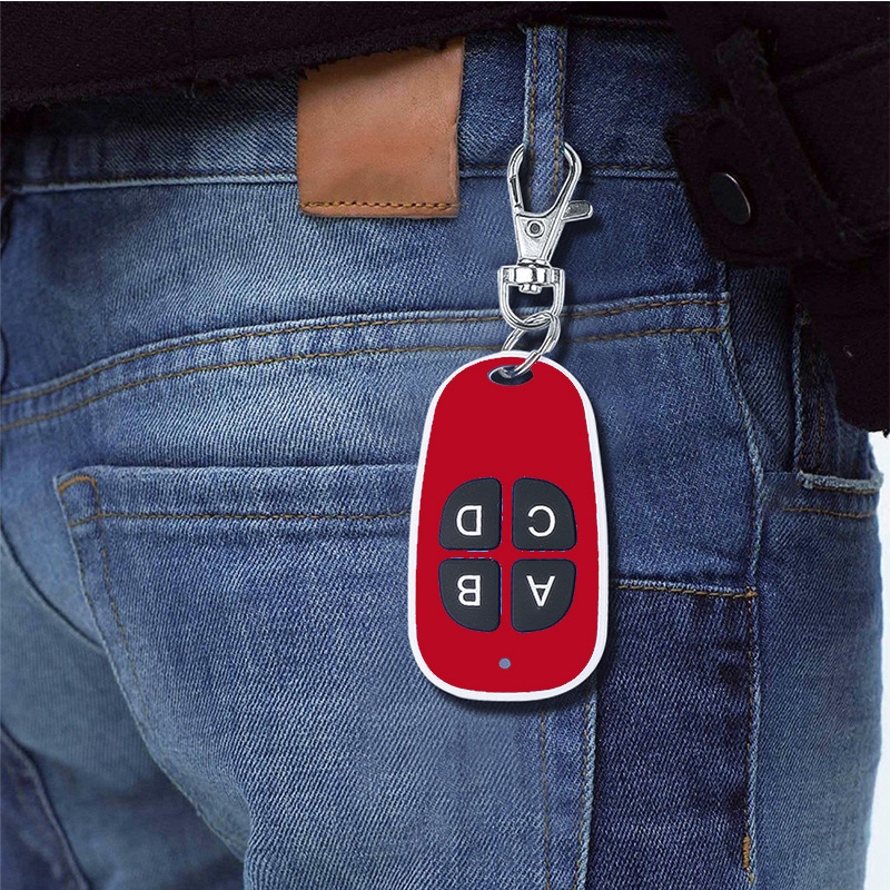 Blue Light RF 433Mhz Copy Wireless Remote Controller Clone Remotes Auto Copy Duplicator For Garage Door Opener Key in Remote Controls from Consumer Electronics