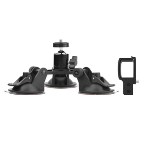 Image 4 - Suction Cup Car Mount for DJI OSMO Pocket/Pocket 2 Vehicle Window Holder with Expansion Module 1/4 Inch Interface Accessory