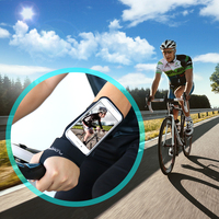 Cycling Running Thumb Arm Band Sport Phone Case For Samsung Galaxy S4 S5 S6 Edge Plus