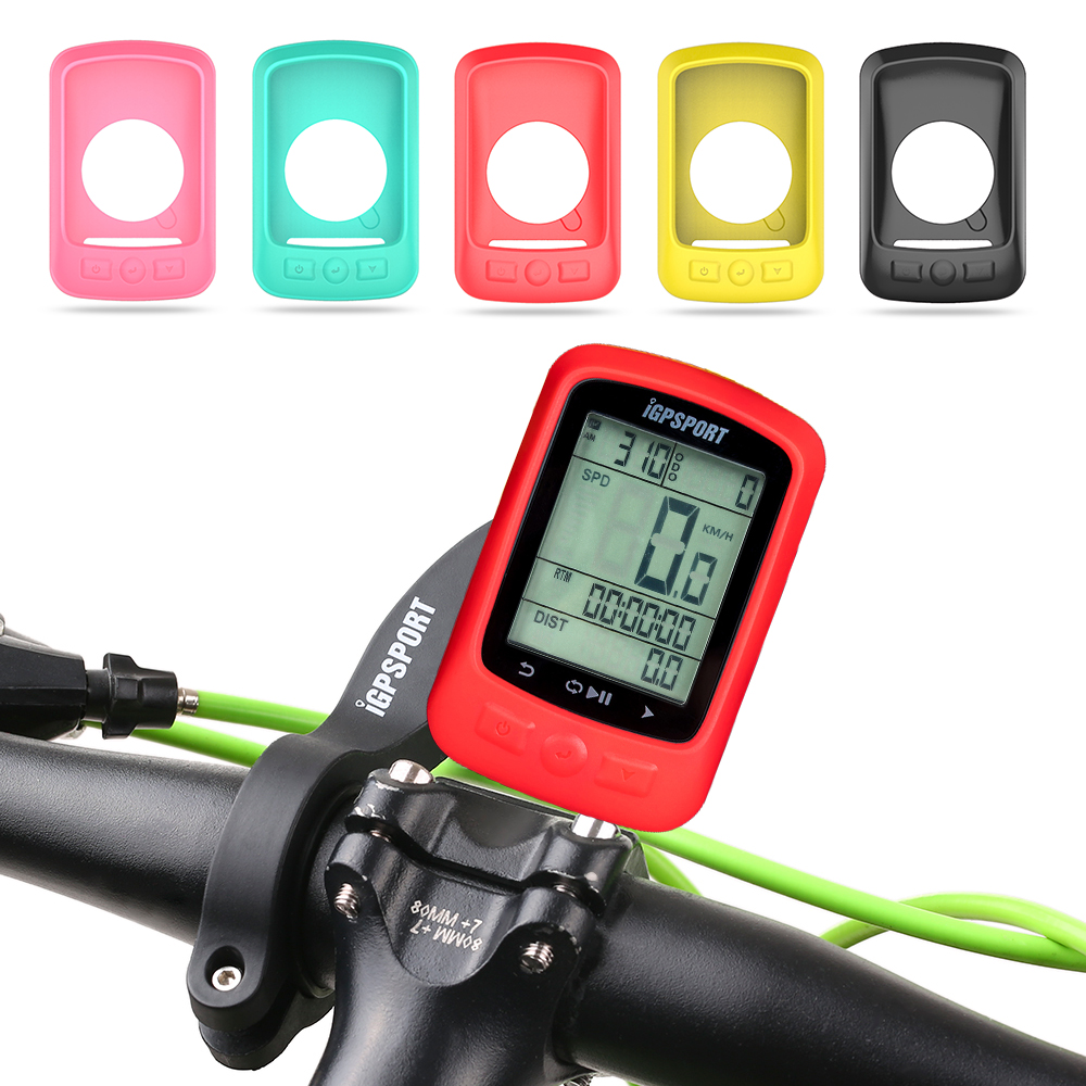 Cycling Bike Speedometer Case Bike Computer Cover Cycling Stopwatch Protective Cover for iGS618 Bike Computer
