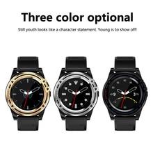 Купить с кэшбэком Bluetooth DT18 Smartwatch Silicon Relogio Android Smart Watch GSM Phone Call Support SIM TF Camera Sport Smart Watch Men Watches