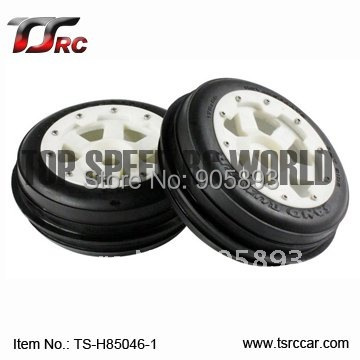 5B Front Sand Wheel Set With Nylon Super Star Wheel (TS-H85046-1)x 2pcs for 1/5 Baja 5B, SS , wholesale and retail 5b rear highway road wheel set with nylon super star wheel ts h95085 x 2pcs for 1 5 baja 5b wholesale and retail