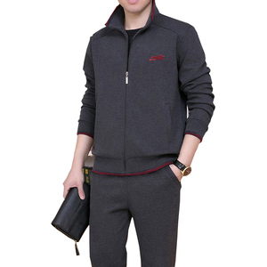 Image 3 - 3 stück Set Marke Trainingsanzug Männer Neue Mode Schweiß Anzug Trainingsanzug Drei stück Sweatershirt Set Casual Herren Sportswear Sets NBA45BF