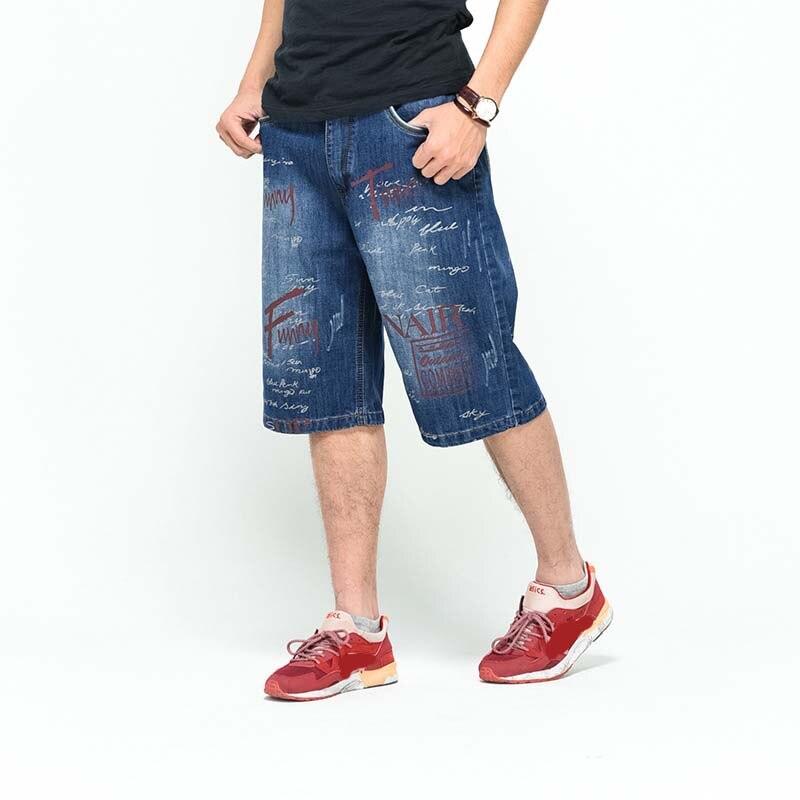 2017 Hot sale Short Jeans Men Denim Blue Boys Cotton Knees shorts Fashion Summer Cargo beach short