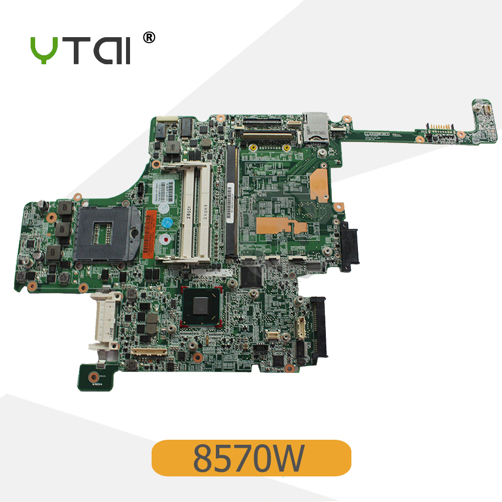 YTAI 684319-001 For HP EliteBook 8570W Series laptop motherboard DDR3 QM67 PGA-988B P/N:010164G00-600-G mainboard top quality for hp laptop mainboard 574508 001 4410s 4411s 4510s 4710s laptop motherboard 100