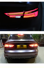 Car Styling Taillight Accessories For Audi A3 Tail Lights 2011- 2018 LED Tail Light Rear Lamp Dynamic turn signal hireno tail lamp for audi a6 c5 2001 2002 2003 led taillight rear lamp parking brake turn signal lights