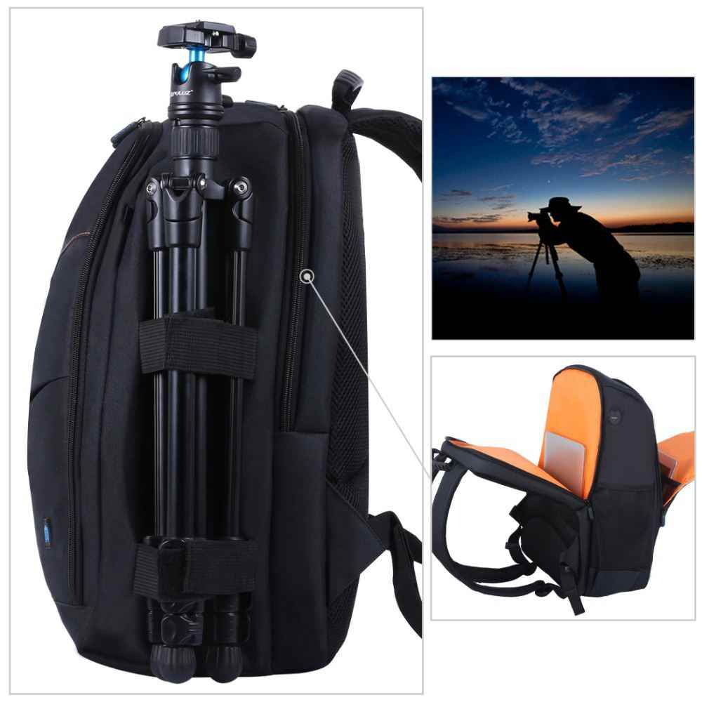 f5bff752e49f ... LANBEIKA Outdoor Portable Waterproof Scratch-proof Dual Shoulders  Backpack Camera Accessories Bag Digital DSLR Photo ...