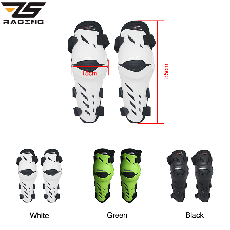 ZS Racing Moto Vitesse Du Genou Garde Vitesse Motocross MX Knee pad Genou Protecteur Moto Racing De Protection Genou